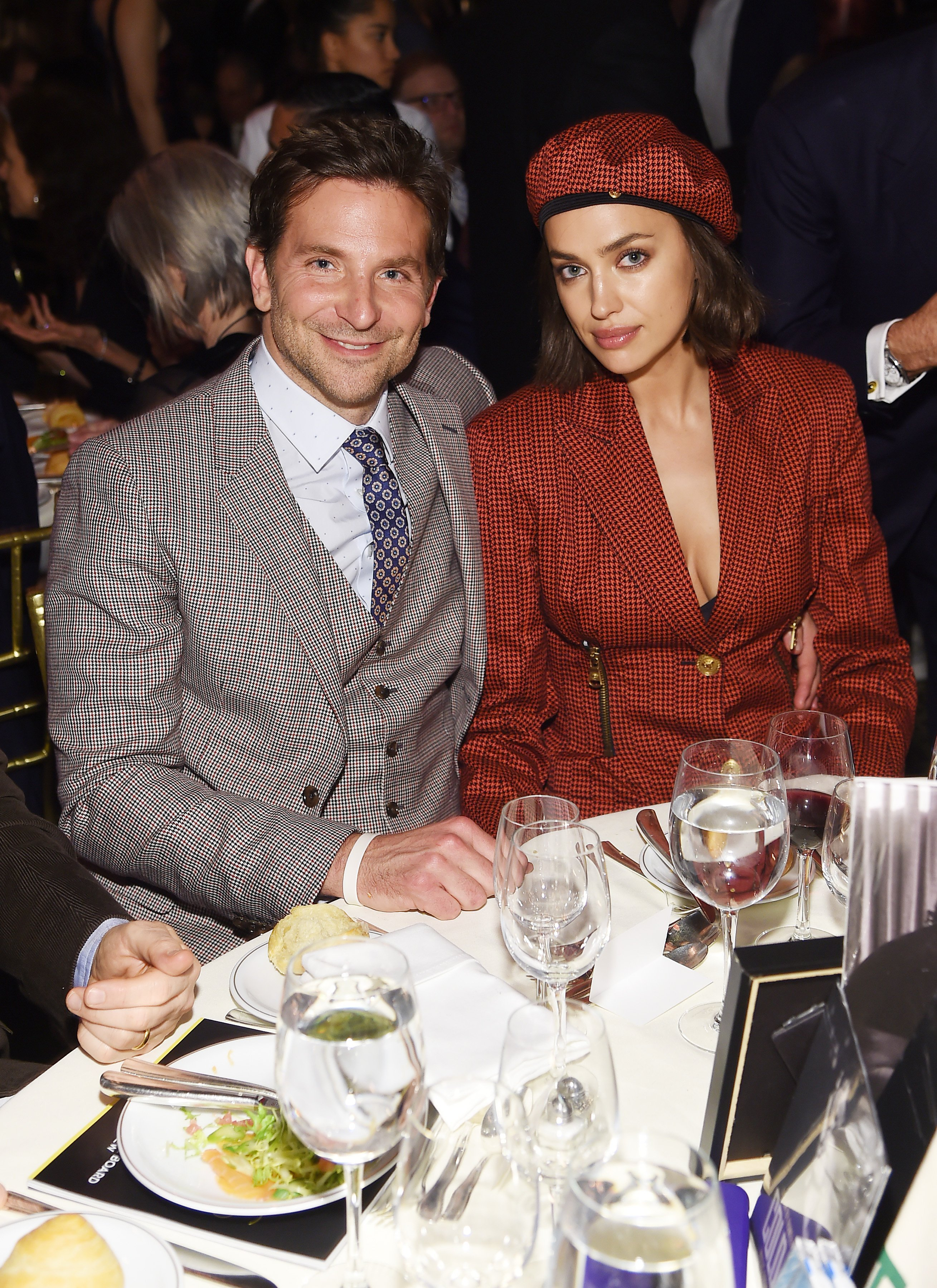 Bradley Cooper and Irina Shayk at Cipriani 42nd Street on January 8, 2019 in New York City | Photo: Getty Images