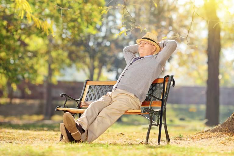 Old man relaxing | Photo: Shutterstock