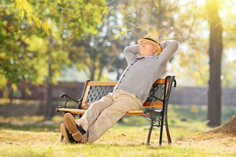 Old man relaxing | Photo: Shutterstock