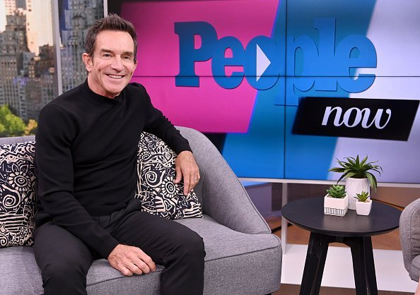 Jeff Probst visits the TV show  People Now on February 03, 2020 in New York City. | Photo: Getty Images