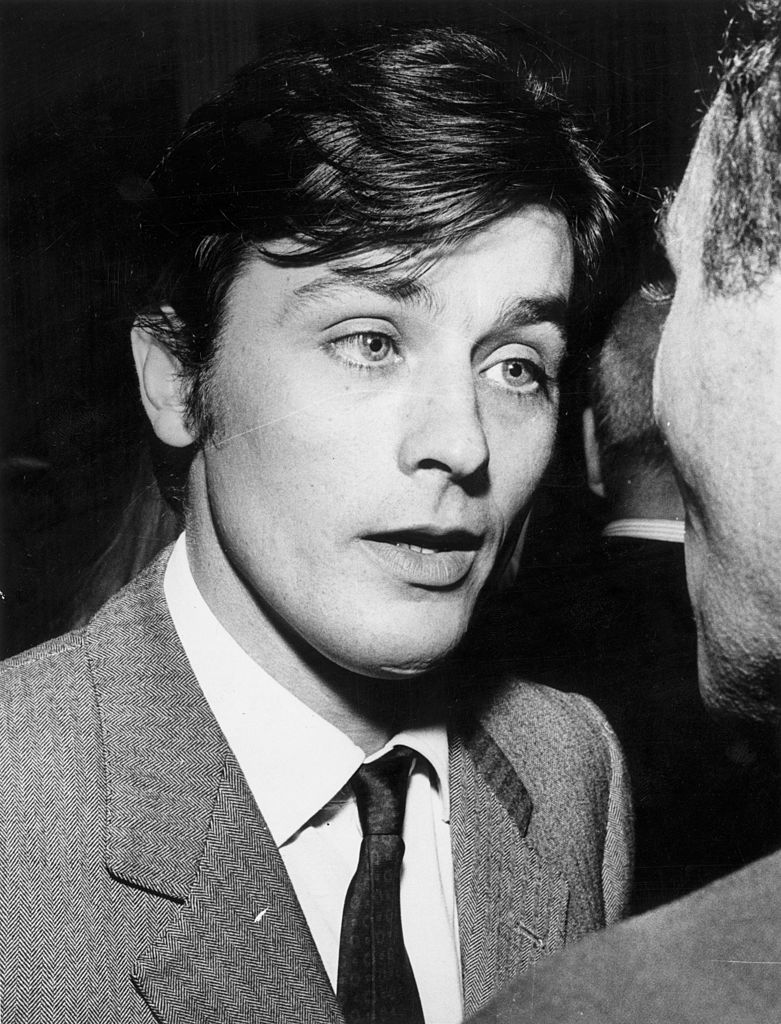 Alain Delon durant sa jeunesse. l Getty Images