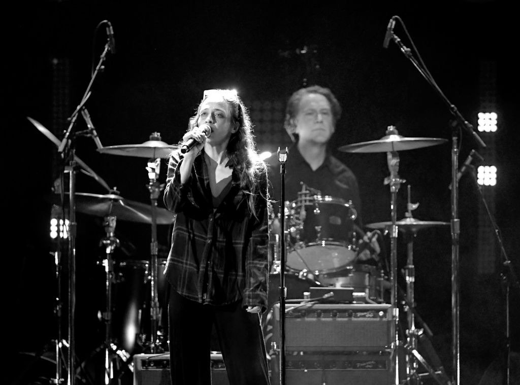 Fiona Apple and Matt Chamberlain perform at I Am The Highway: A Tribute to Chris Cornell at the Forum on January 16, 2019   Photo: Getty Images
