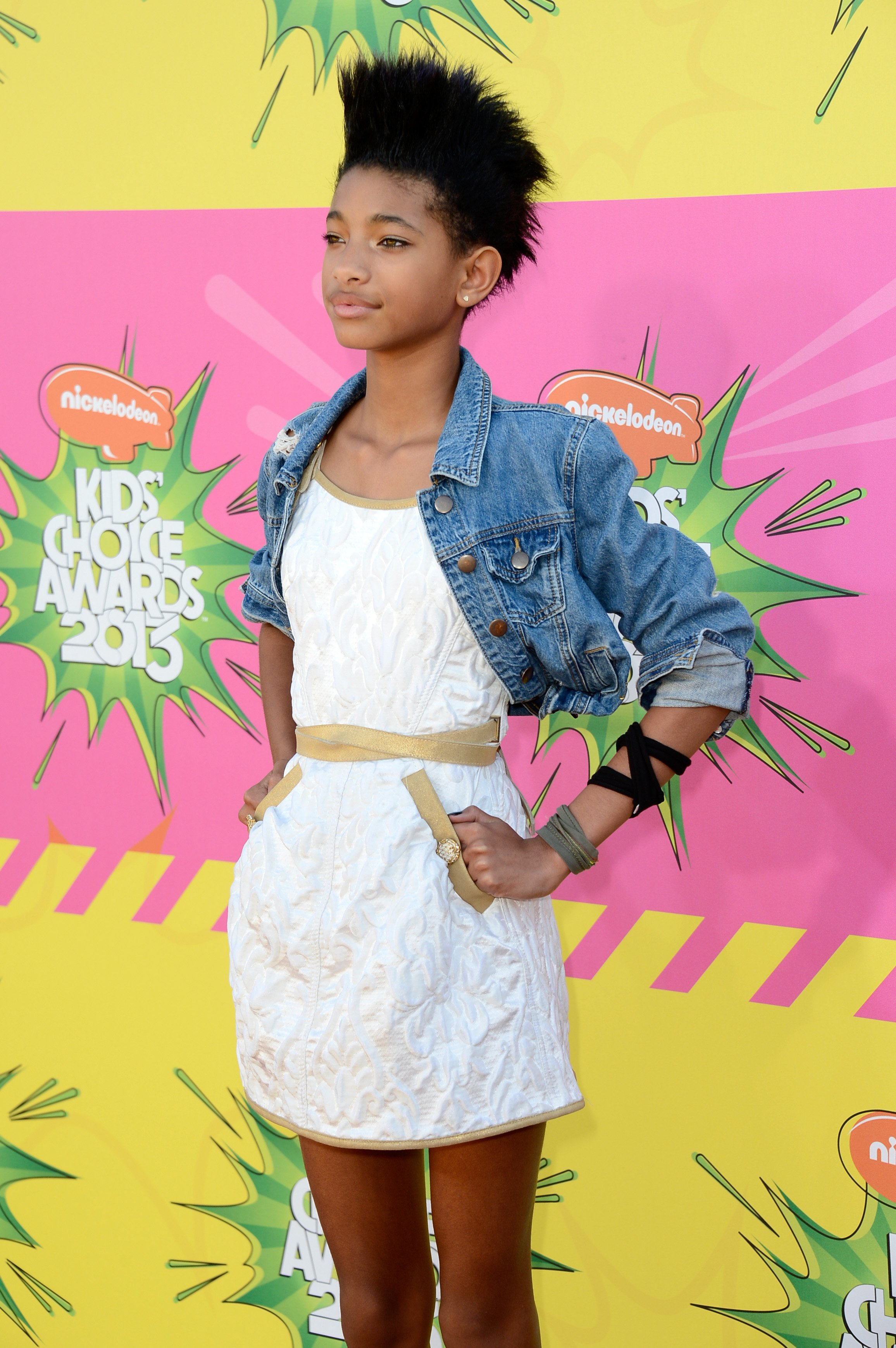 Willow Smith at the 2008 Kid's Choice Awards | Photo: Getty Images