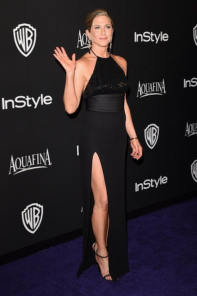 Jennifer Aniston at the 2015 InStyle And Warner Bros. 72nd Annual Golden Globe Awards Post-Party.| Photo: Getty Images.