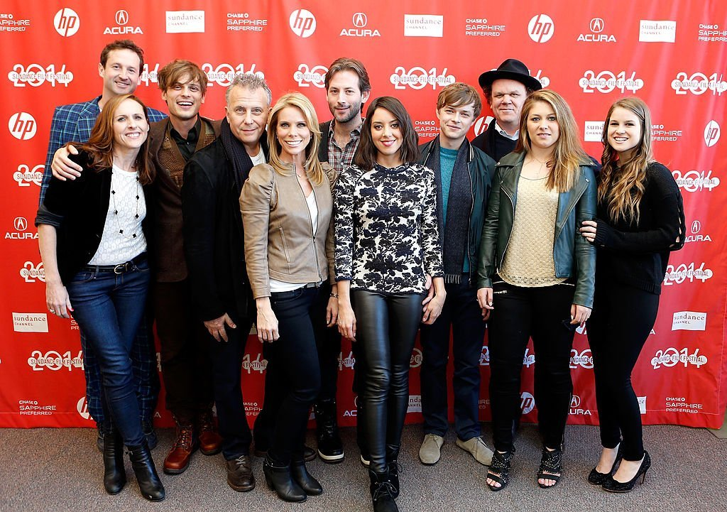 "Trevor Groth, Molly Shannon, Matthew Gray Gubler, Paul Reiser, Cheryl Hines, Jeff Baena, Aubrey Plaza, Dane DeHaan, John C. Reilly, Elizabeth Jayne and Jenna Nye attend the ""Life After Beth"" premiere 