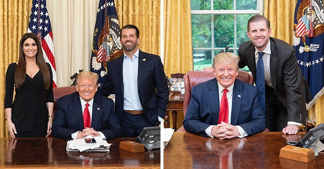 Donald Trump's Sons Donald Jr and Eric Wish Their Father a Happy 74th Birthday