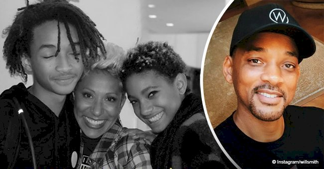 Will Smith praises his mother-in-law's youthful looks in photo with his kids Jaden and Willow