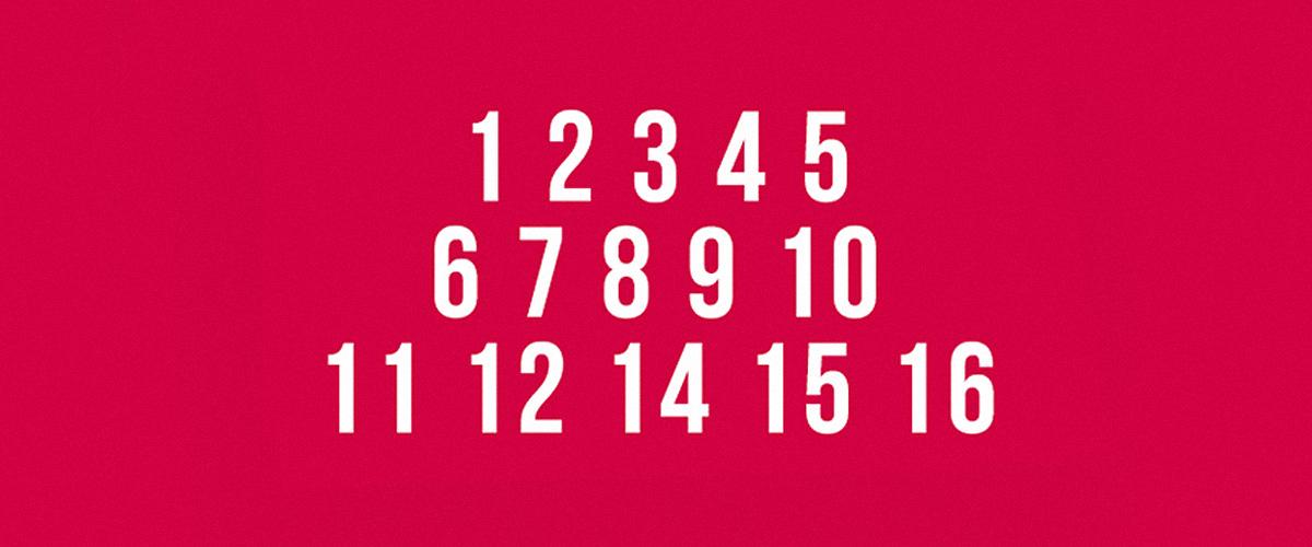 Kannst du die fehlende Nummer finden? Diese Konzentrationstests werden dein Gehirn fordern