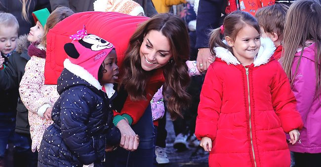 People: Kate Middleton Complimented Little Girl on Her Hairstyle as She Helped Children Pick out Christmas Trees