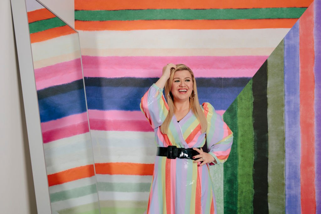 Kelly Clarkson poses for a portrait at the NBCUniversal lot, September 2019   Source: Getty Images