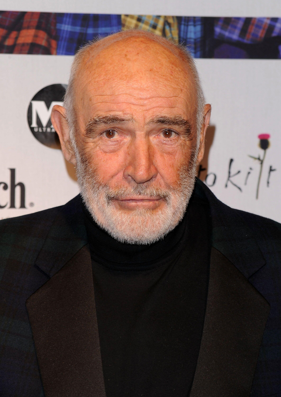 Le comédien Sean Connery. l Source : Getty Images
