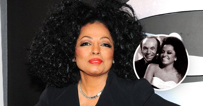 Diana Ross and her late ex-husband, Arne Naess Jr.   Photo: Getty Images