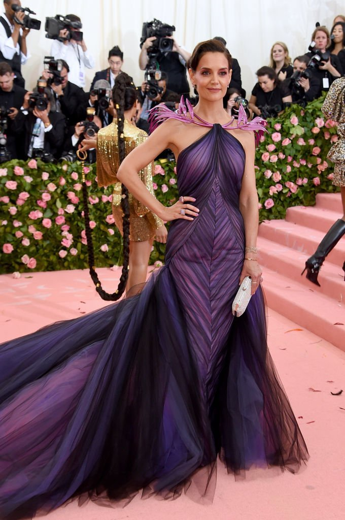 Katie Holmes attends The 2019 Met Gala Celebrating Camp: Notes on Fashion at Metropolitan Museum of Art | Photo: Jamie McCarthy/Getty Images