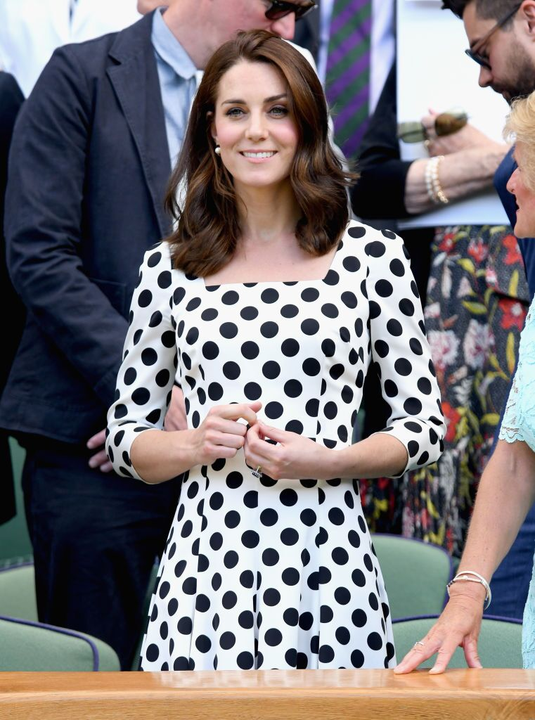 Catherine Middleton attends the opening day of Wimbledon 2017. | Source: Getty Images