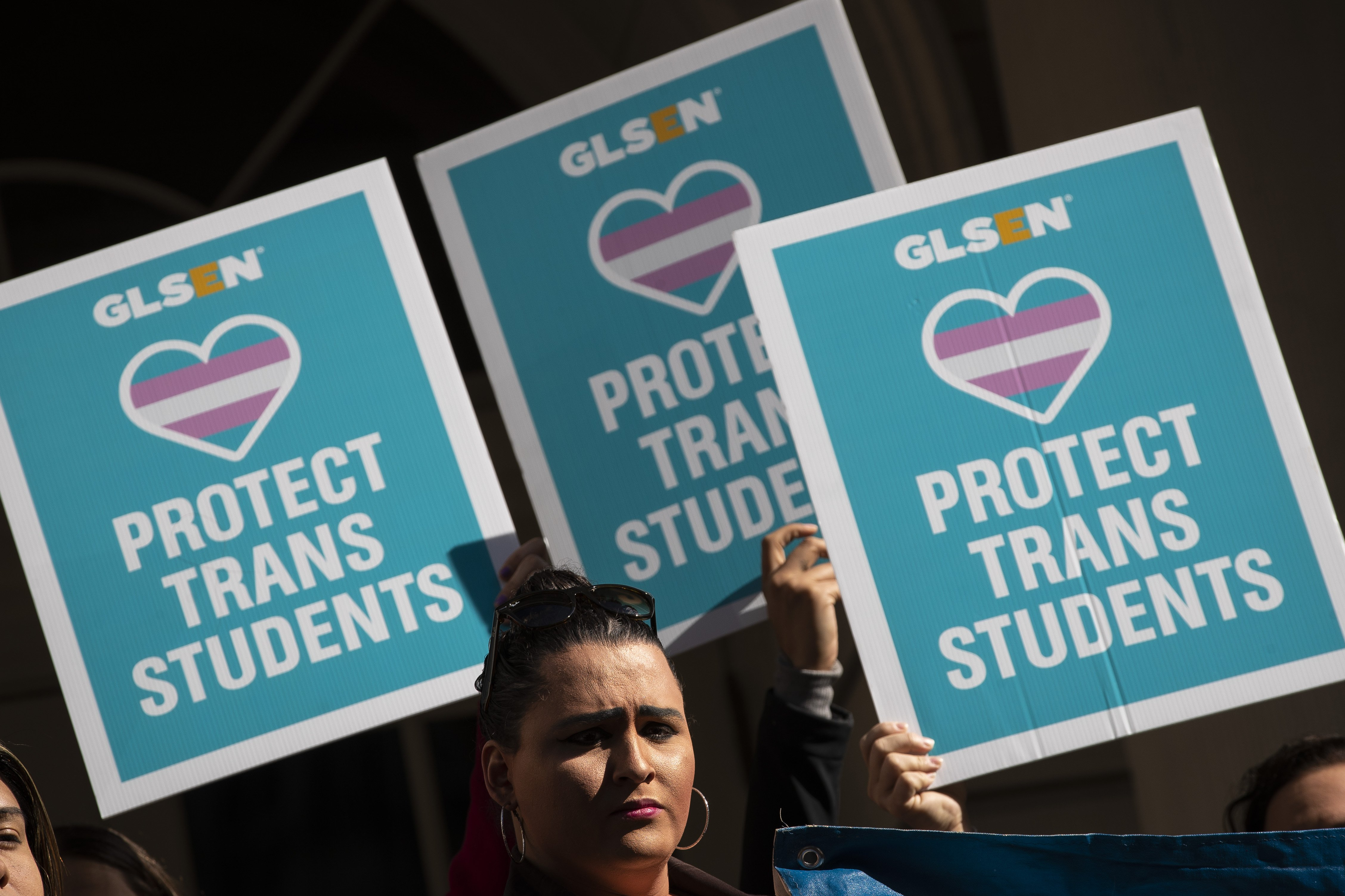 LGTB activists protesting outside New York City Hall   Photo: Getty Images