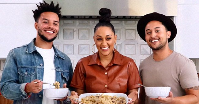 Tia Mowry and Her Brothers Tahj and Tavior Cook Beef Stroganoff Together in a Video