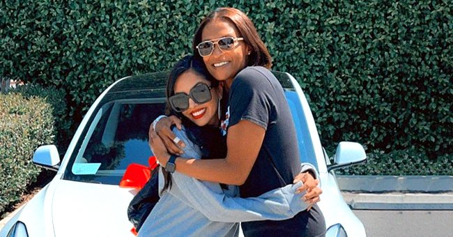 Kobe Bryant's Sister Sharia Reacts to Vanessa Bryant Gifting Her a Tesla Tunnel