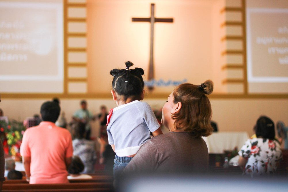 A look inside the church where the mother and daughters attended school | Shutterstock