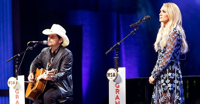 Brad Paisley & Carrie Underwood Give Stunning 'Whiskey Lullaby' Performance at the Grande Ole Opry