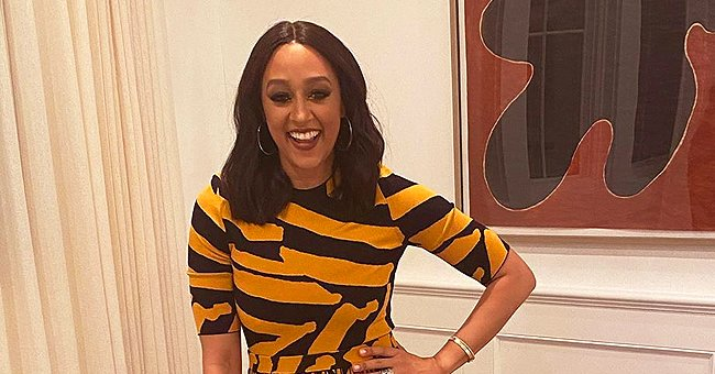 Tia Mowry of 'Sister, Sister' & Daughter Cairo Smile in Photo as They Wish Fans a Good Week