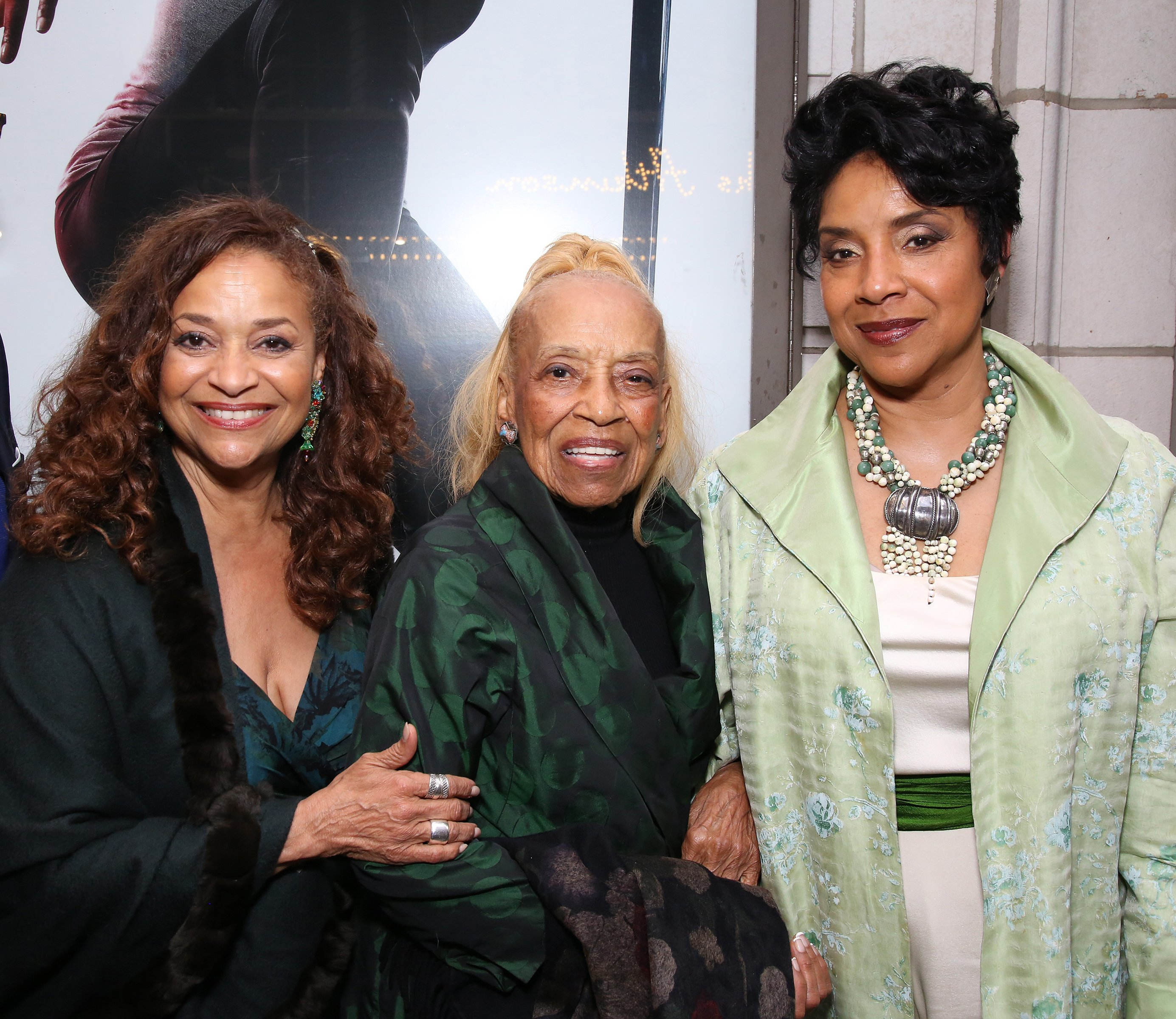 (L-R) Debbie Allen, Vivian Ayers & Phylicia Rashad at the Broadway Opening Night of 'Saint Joan' on April 25, 2018 in New York City | Photo: Getty Images