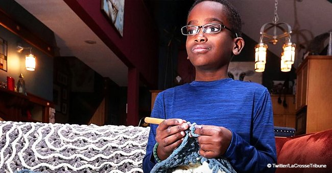 Boy learned how to crochet from YouTube at age 5. He's now 11 & his creations have gone viral