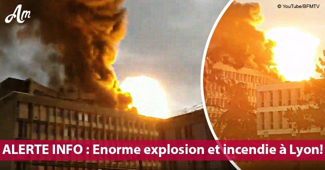 Les énormes explosions près de l'Université de Lyon, les vidéos des témoins sont dévoilées