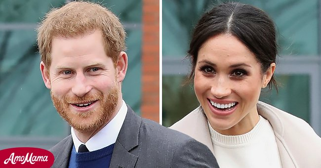 A picture of Meghan Markle and her husband, Prince Harry   Photo: Getty Images