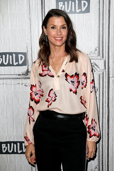Bridget Moynahan at the Build Series at Build Studio on April 17, 2019 | Photo: Getty Images
