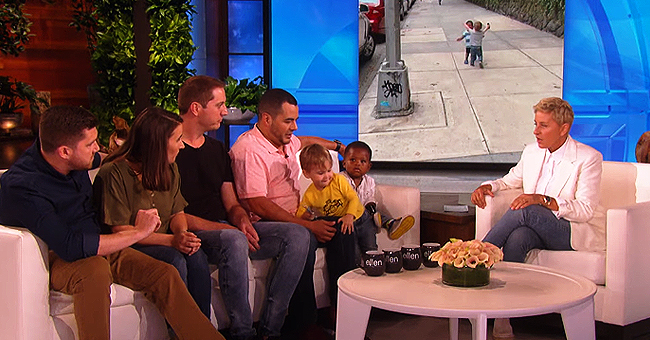 Ellen DeGeneres Meets Hugging Toddlers Who Went Viral and They Are Absolutely Adorable