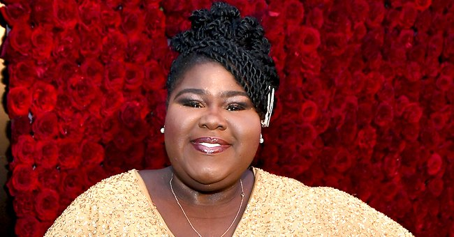 Gabby Sidibe Is All Smiles in a Throwback Photo as She Poses in a Black Dress with Miss Piggy