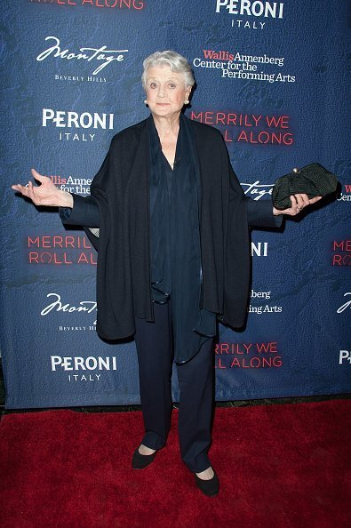 Angela Lansbury at the Opening Night of 'Merrily We Roll Along' | Photo: Getty Images