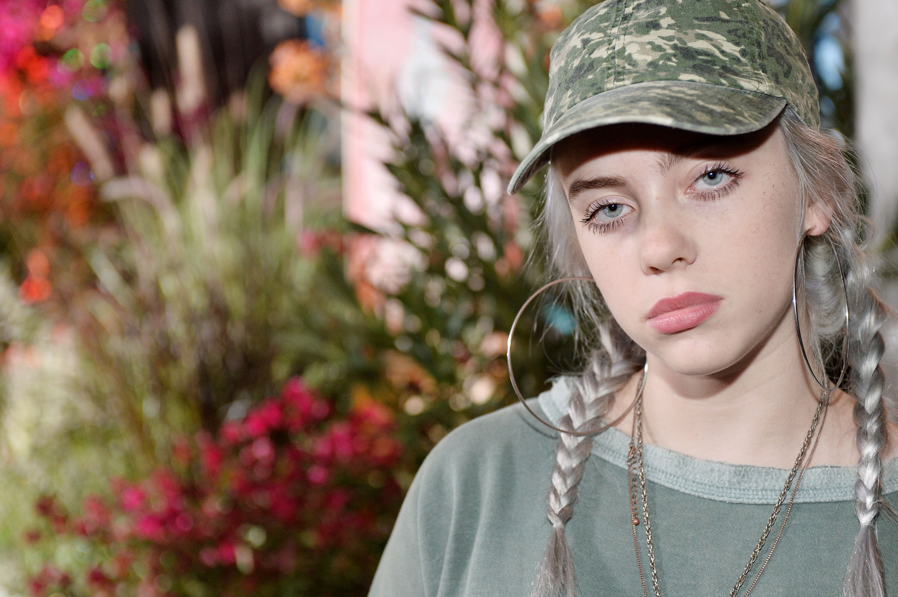 Billie Eilish attends 14th Annual Teen Vogue Young Hollywood with American Eagle Outfitters on September 23, 2016 in Malibu, California | Photo: GettyImages