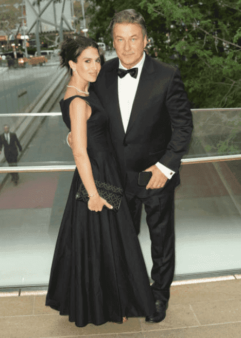 Alec Baldwin and his wife, Hilaria Baldwin attend a black tie event, on October 7, 2019, New York | Source: Getty Images (Photo by JNI/Star Max/GC Images)