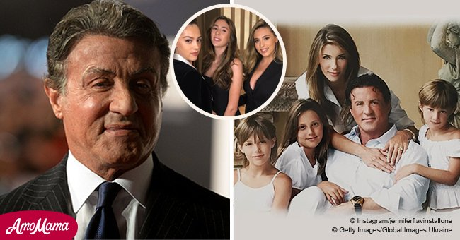 Sylvester Stallone's gorgeous daughters are all grown up and working as professional models now