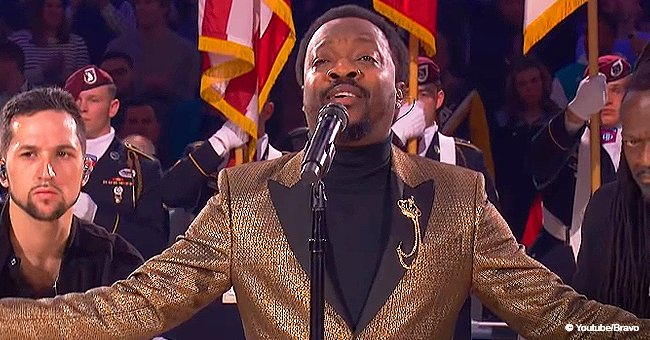 Anthony Hamilton mesmerized crowd with national anthem at All-Star game, putting Fergie to shame