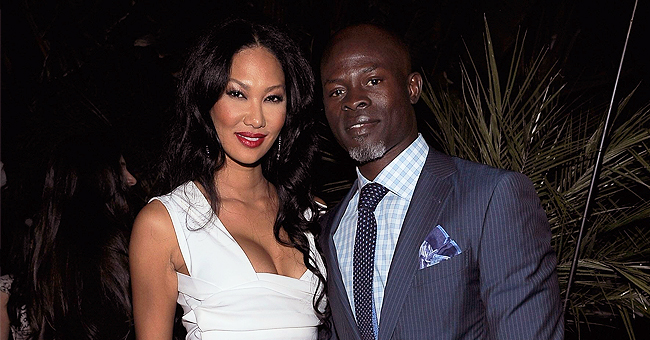Kimora Lee Simmons' Ex Djimon Hounsou Spotted with Mystery Woman Amid Son Kenzo's Custody Battle