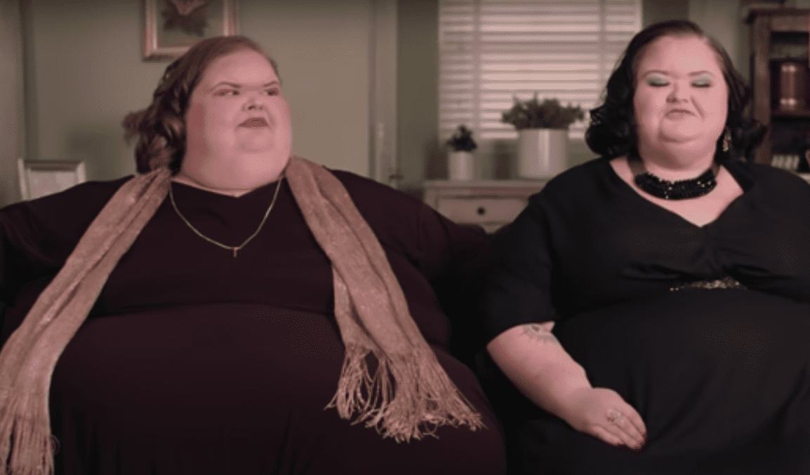 """Scene from """"1000-LB Sisters"""" where Amy opened up about her weight loss on February 10, 2020   Photo: youtube.com/TLC"""