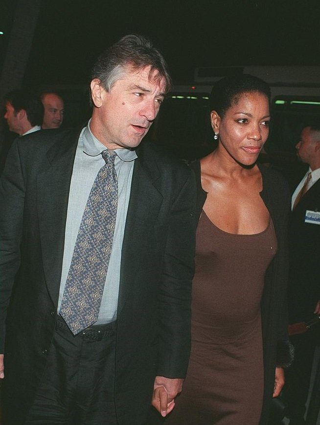 """Robert De Niro and Grace Hightower attend the premiere of """"Ronin"""" in Beverly Hills, California on September 23, 1998 