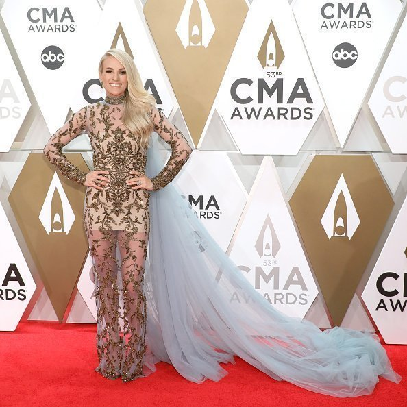 Carrie Underwood attends the 53nd annual CMA Awards at Bridgestone Arena in Nashville, Tennessee | Photo: Getty Images