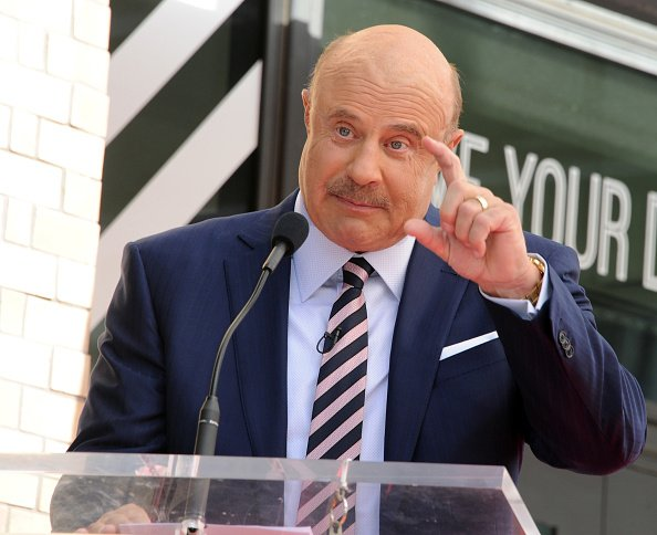 Dr. Phil McGraw at his Star Ceremony On The Hollywood Walk Of Fame on February 21, 2020 in Hollywood, California. | Photo: Getty Images