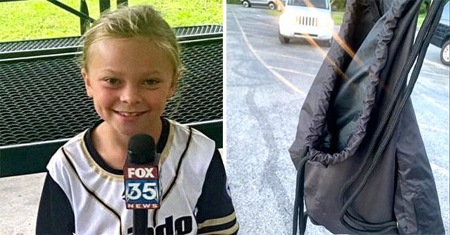 Photos of the softball trophy and Ashlee Partin's daughter   Source: facebook.com/AshleeMFrost