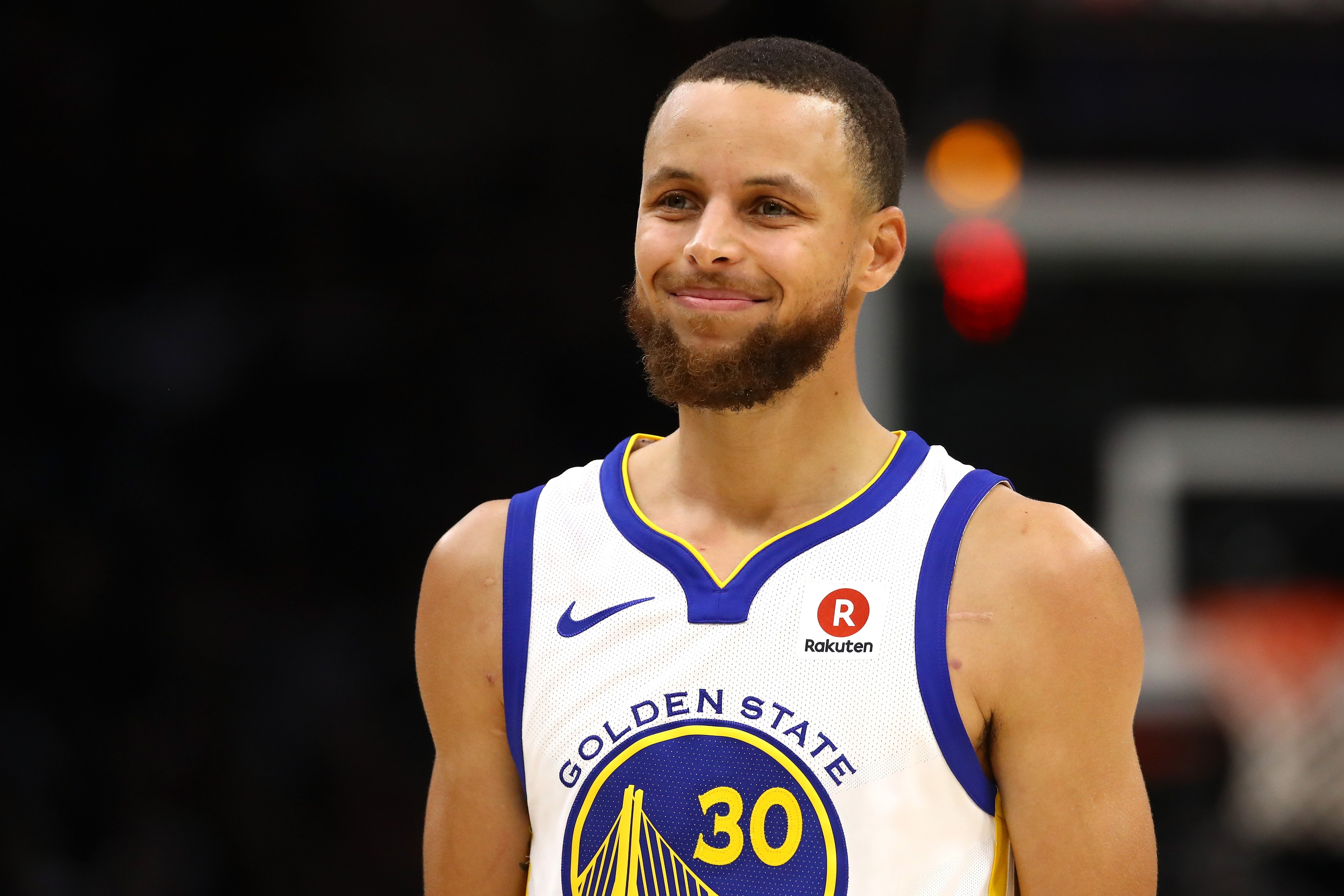 Stephen Curry during Game 4 against the Cleveland Cavaliers at the 2018 NBA Finals at Quicken Loans Arena on June 8, 2018 in Cleveland, Ohio.| Source: Getty Images