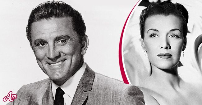 Kirk Douglas (Left) and Jean Spangler (Right) mid-1940s| Photo: Getty Images
