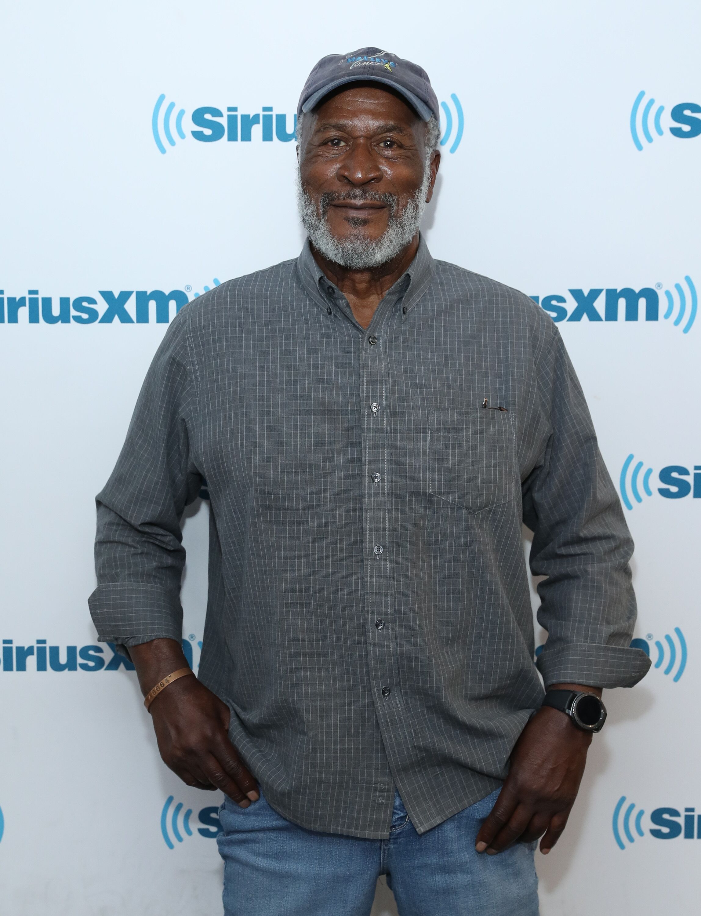John Amos visits SiriusXM Studios on October 10, 2017. | Photo: Getty Images