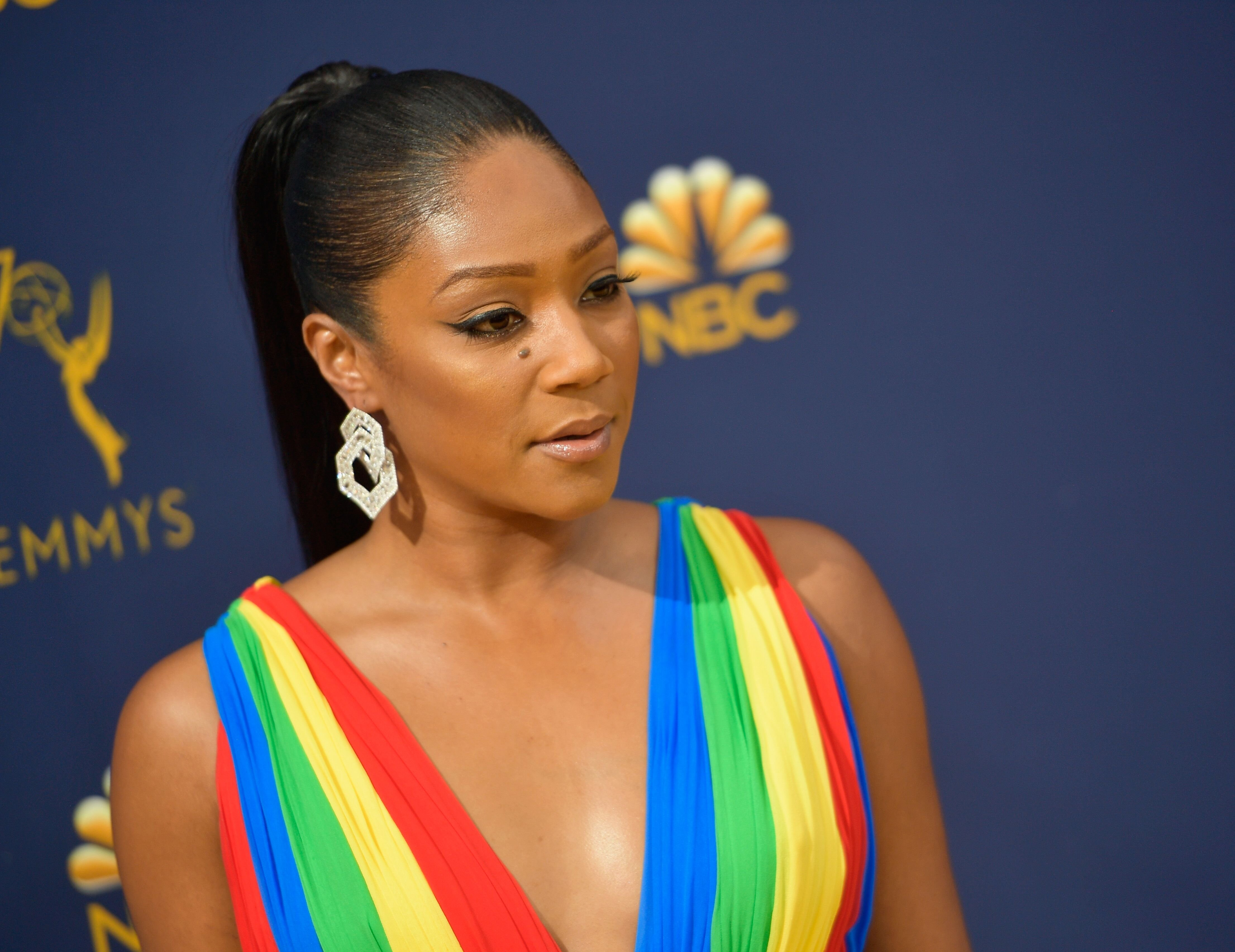 Tiffany Haddish on the red carpet of the Emmy's | Source: Getty Images/GlobalImagesUkraine