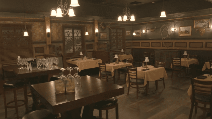 Irish pub set at the Tyler Perry Studios | Source: YouTube/Architectural Digest