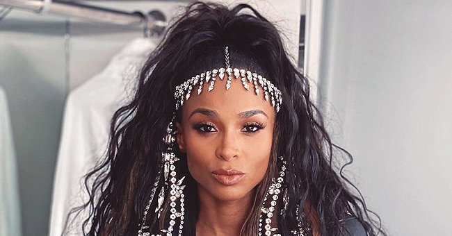 Fans Gush over a Stunning Pic of Ciara Dressed in a Silk Shirt with Cool Nude Makeup