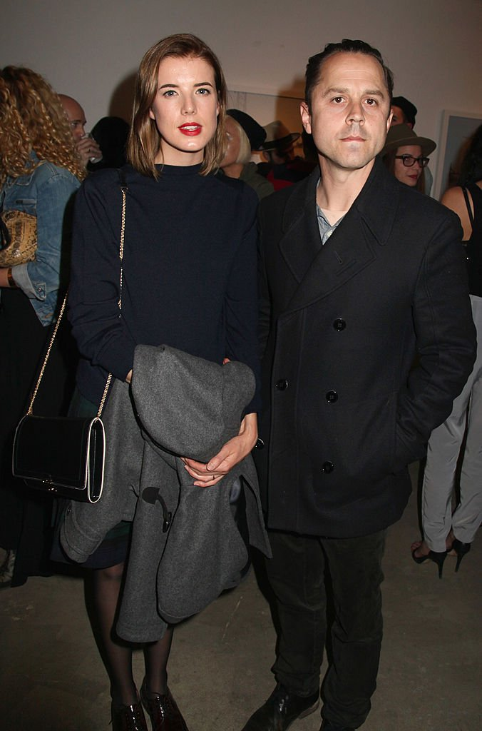 """Agyness Deyn and actor Giovanni Ribisi attend the artists reception for LA Odyssey Debut Show """"Conceptions"""" on November 7, 2013   Photo: Getty Images"""