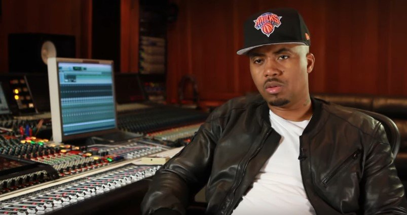 American rapper, Nas during an official interview on his YouTube page. | Youtube/NasOfficial